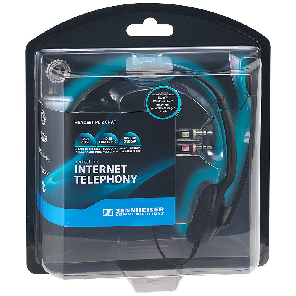 Sennheiser PC 2 Chat Headset - Packaging Front