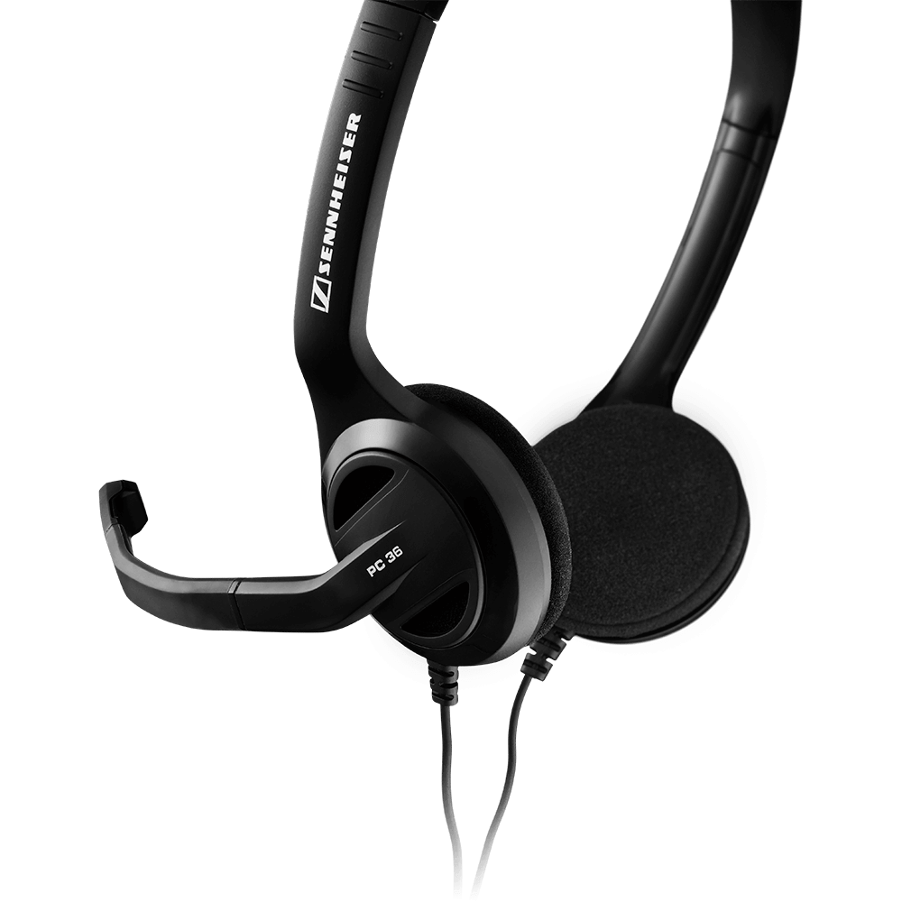 Sennheiser PC 36 Call Control Headset - Product Back