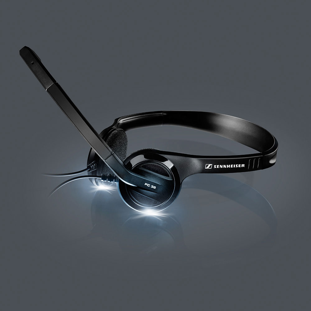 Sennheiser PC 36 Call Control Headset - Product with Shadows