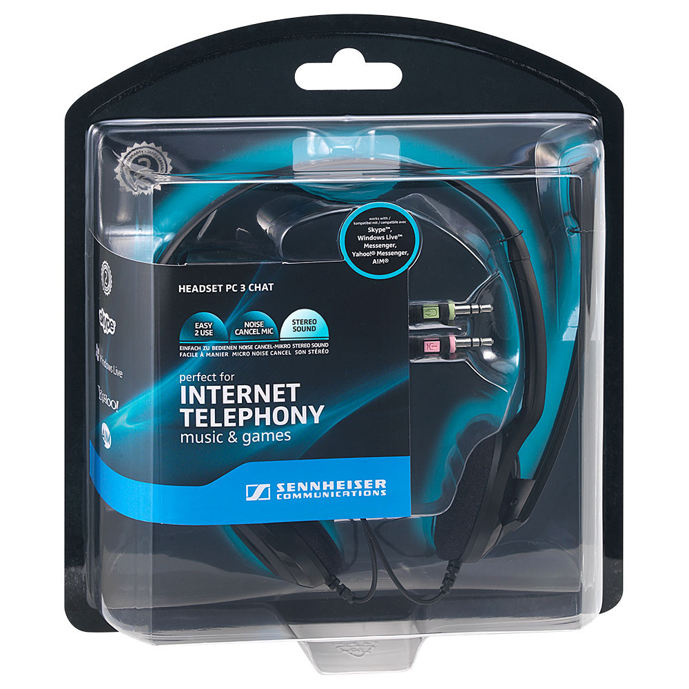 Sennheiser PC 3 Chat Headset - Packaging Front