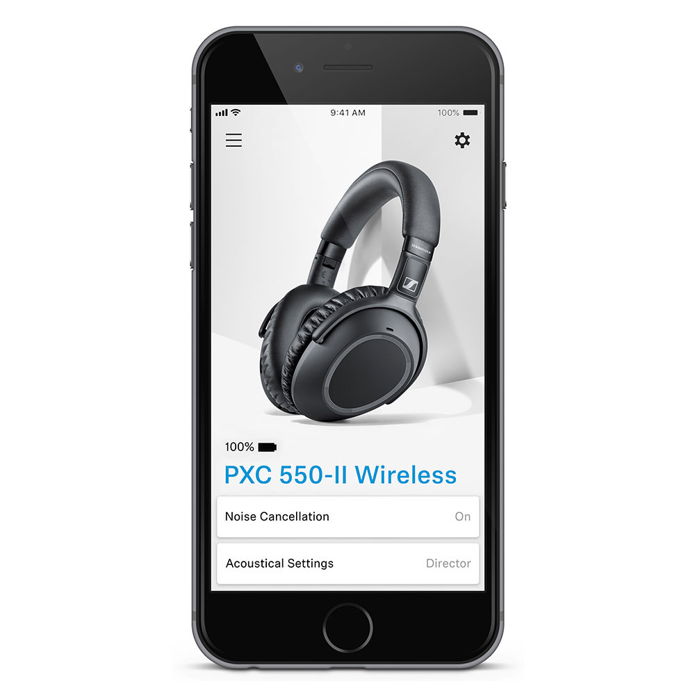 Sennheiser PXC 550-II Wireless Headphones - Smart App