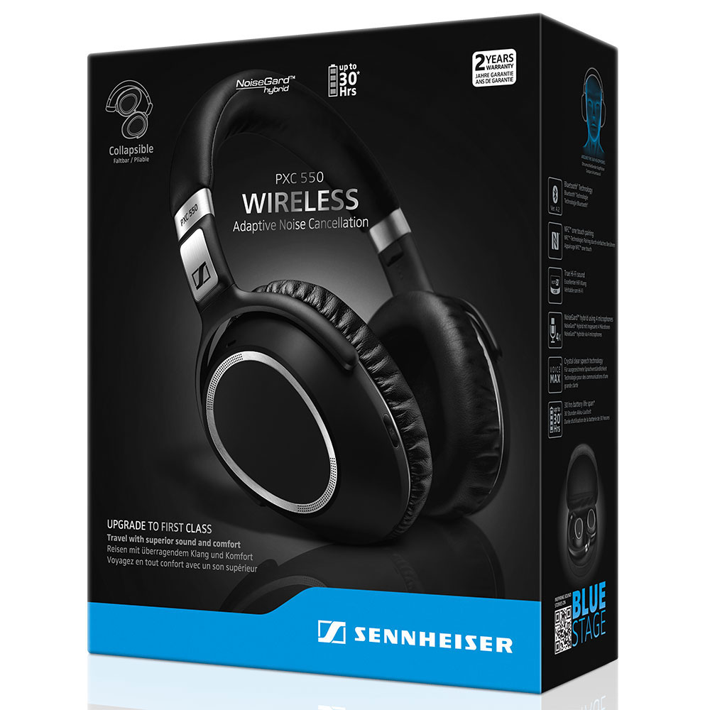 Sennheiser PXC 550 Wireless Headset - Packaging Front