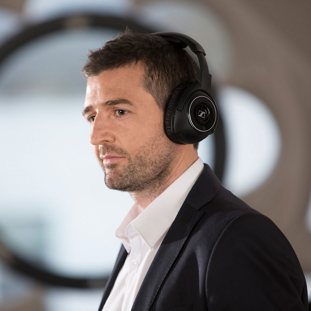 Sennheiser RS 160 Wireless System - Product Application - Man