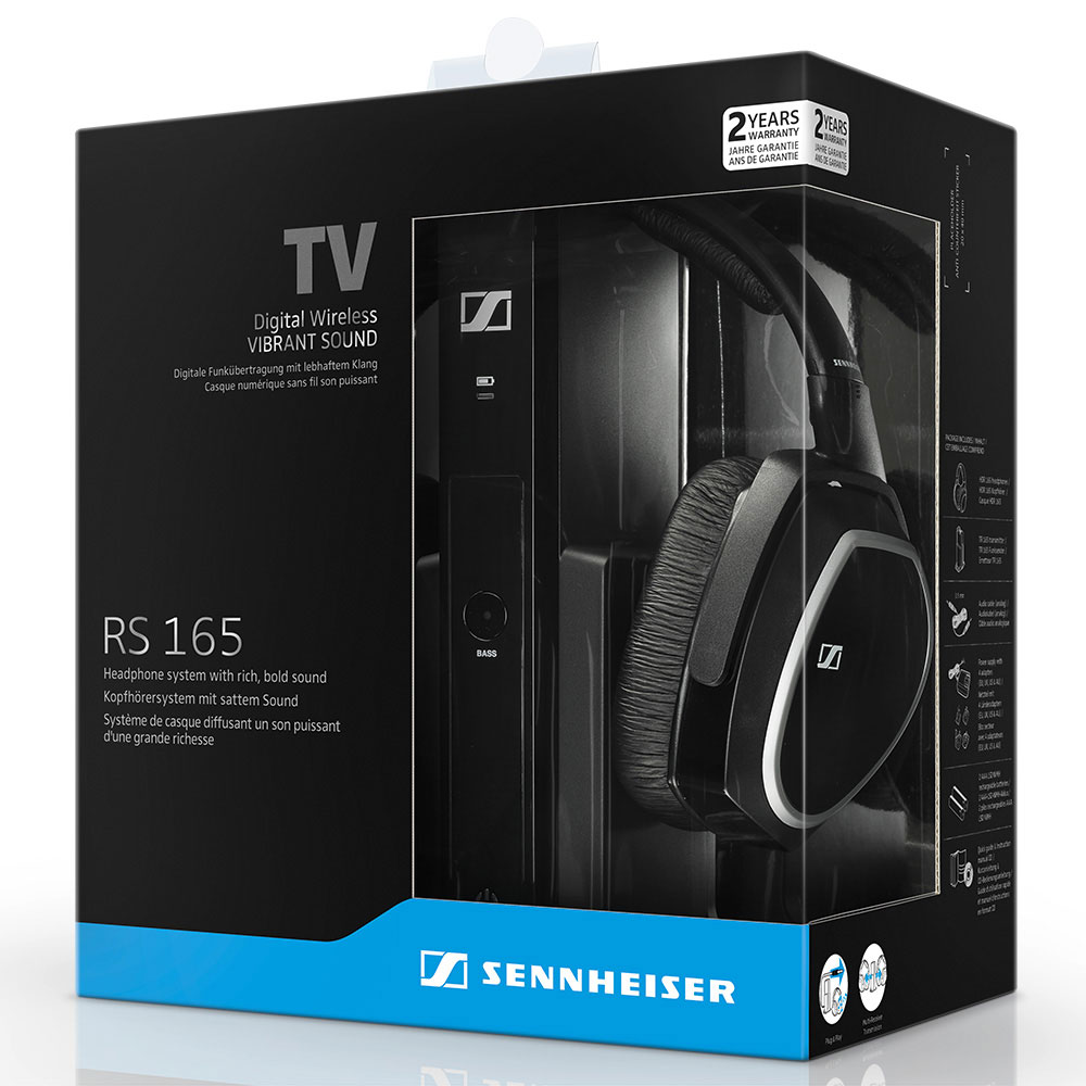 Sennheiser RS 165 Wireless System - Packaging Front