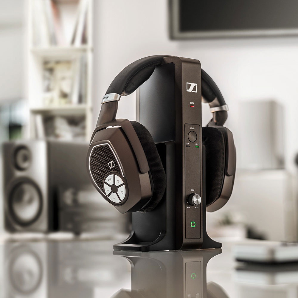 Sennheiser RS 185 Wireless System - Product on a table