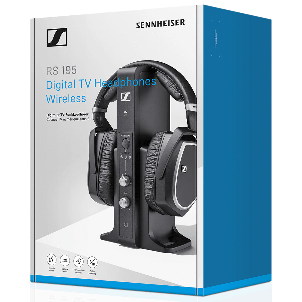 Sennheiser RS 195 Wireless System - Packaging Front